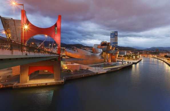 Fragmento de una de las fotografías 360ª de Bilbao incluidas en la web ocholeguas.com