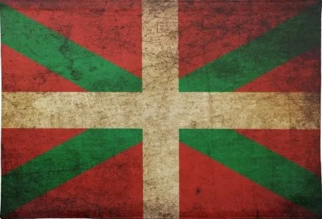 IkurriñaThe ikurriña, the flag and main symbol of the Basques
