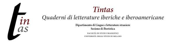 Cabecera del Magazine Tintas de la Universidad de Milán