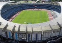 Estadio de Anoeta, Sede de la Real Sociedad. Donostia-San Sebastian