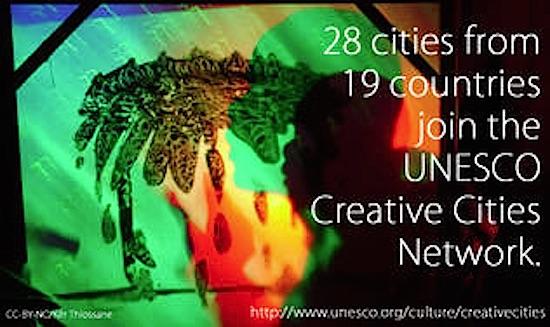 Bilbao entra a formar marte de la UNESCO CREATIVE CITIES NETWORK
