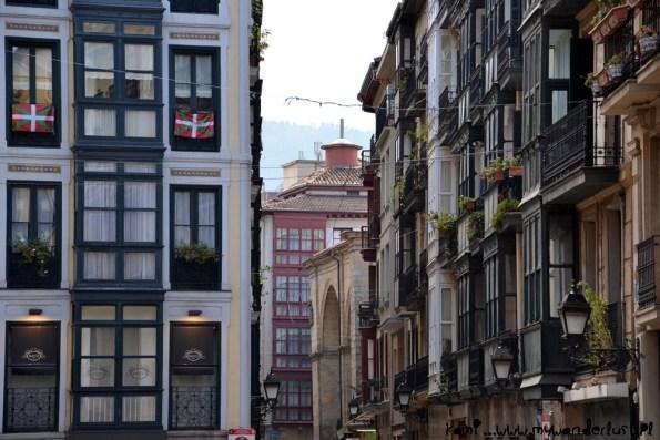Ikurriñas em Bilbao. Fotografía Kamila Napora