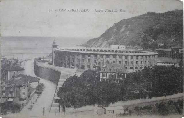 San Sebastian-nueva Plaza De Toros-1920