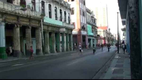 "Calle Belascoain de La Habana. Del documental ""Belascoain"" primera entrega de la serie Siete Calles de la Habana de Angel Gonzalez Katarain"