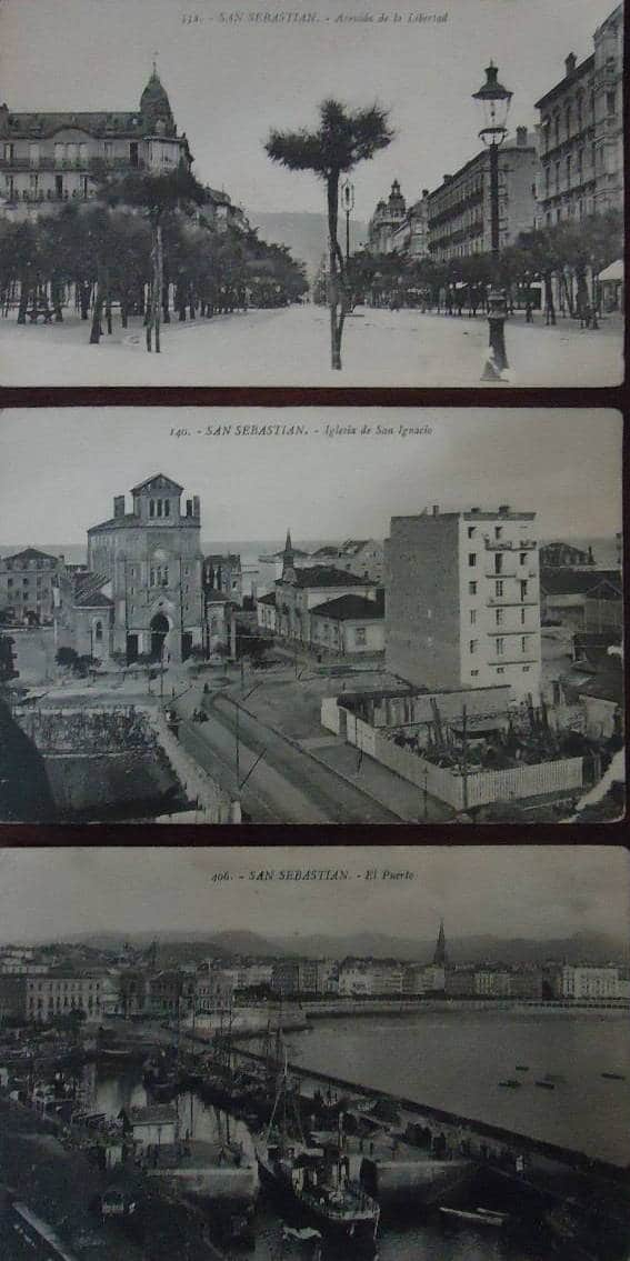 San Sebastián Avda. Libertad / Iglesia San Ignacio / Puerto