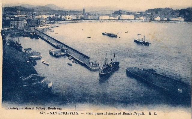 Postal Antigua: Puerto De San Sebastián