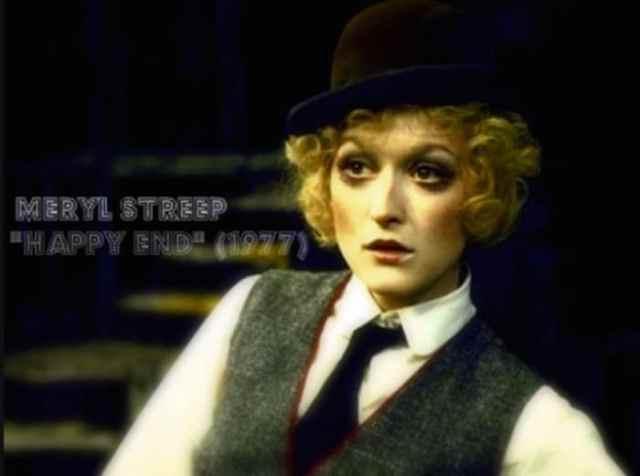En sus tiempos mozos Meryl Streep ya partía el bacalao.