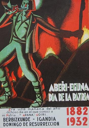 1932ko Aberri Eguneko kartela