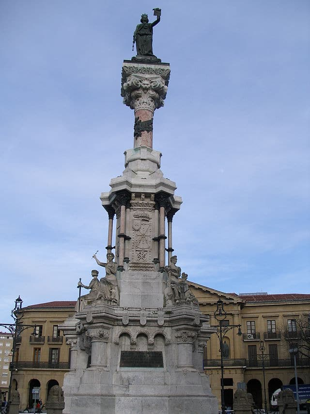 Nafar foruen monumentua Iruñean
