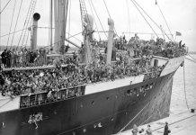 El Habana el buque que llevó a los niños vascos a Gran Bretaña