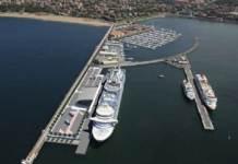 Imagen de la nueva terminal de cruceros del Puerto de Bilbao en Getxo