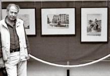 Exposicion de Angelo Paionni sobre Bilbao en Roma