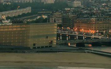 Fotograma del video de presentacion de Donostia/San Sebastian realizado dos meses antes del inicio de DSS2016
