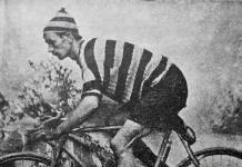 El ciclista bizkaino Vicente Blanco