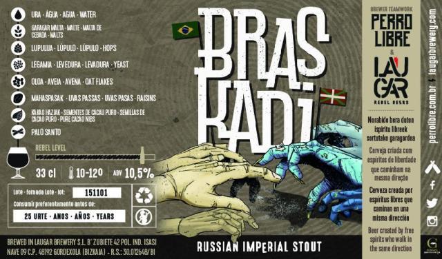 Cartel de presentación de Braskadi