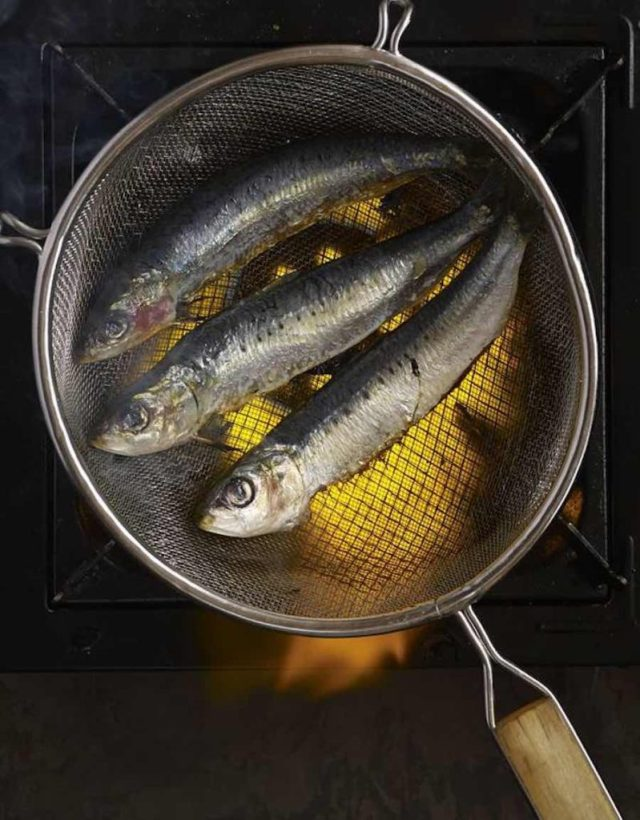Grilled Sardines, Basque Port Style PHOTO- PENNY DE LOS SANTOS