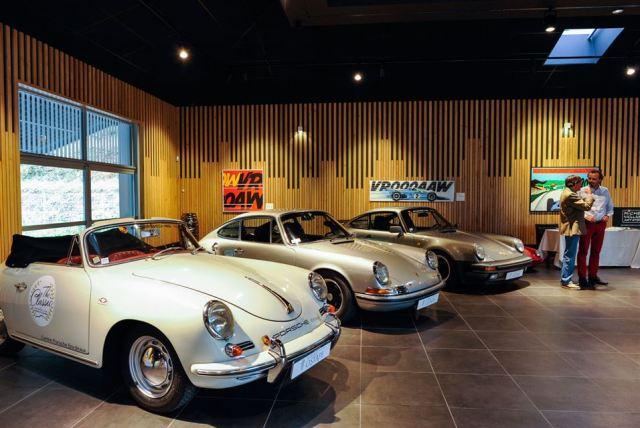 Museo Porsche en iparralde. Nicolas Mollo AFP