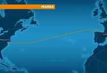 Cable submarino Virginia-Bilbao que van a tender entre Microsoft y Facebook