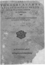 El primer derrotero detallado de Terranova escrito por Martin de Hoyarsabal, habitante de Ziburu