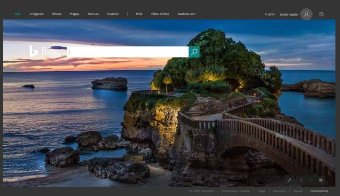 Biarritz on Bing Argentina