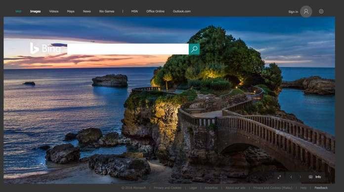 Biarritz on Bing - Malaysia