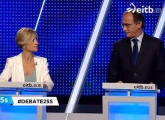Pili Zabala y Alfonso Alonso debatiendo sobre qué es una víctima del terrorismo