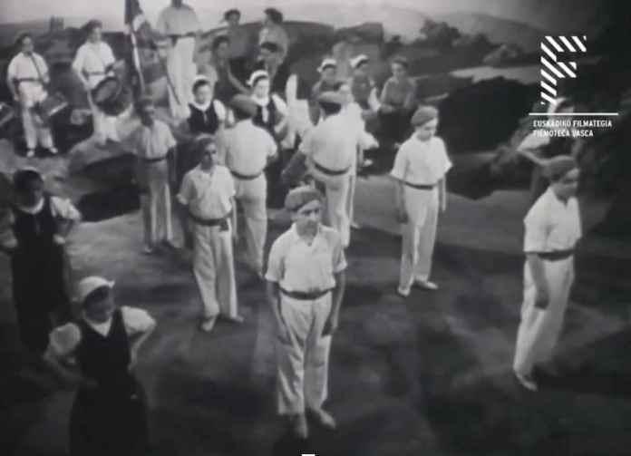 "Still from the documentary ""Elai-Alai"" (1938)"