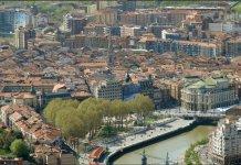 La vista del Casco Viejo de Bilbao desde los miradores de Artxanda. Una de las imágenes que incluye La Repubblica en su artículo sobre Bilbao