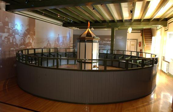 Auction machine at the Bentalekua Museum in Mutriku