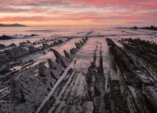 National Geographic. Atardecer en el Geoparque de la Costa Vasca (fotografía: M. Subirats)