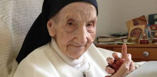 Marie-Bernardette la monja más longeva del mundo, ha fallecido a los 110 años y era vasca