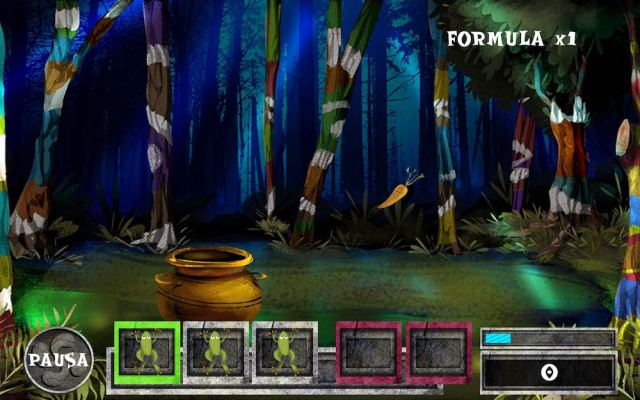 Screenshot of the game Sorginen Erronkak