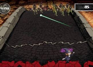 Una pantalla del juego Sorginen Erronkak