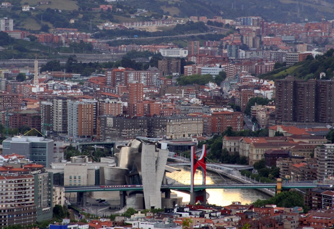 Special issue on Bilbao in MAS Context.  View of Abandoibarra
