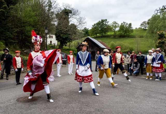 Souletin Mascarade in Barcus