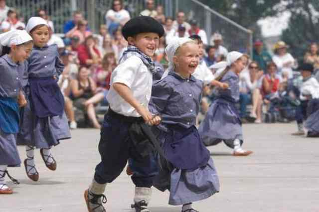 Children at a Basque Festival in Nevada, the Daily Free Press via AP Ross Anderson