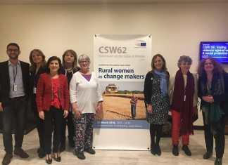La europarlamentaria vasca Izaskun Bilbao ha participado en la la 62 Asamblea de la Comisión de la ONU para el Estatuto de la Mujer