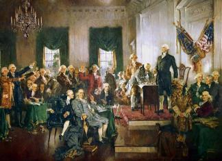 Los Padres Fundadores de los USA