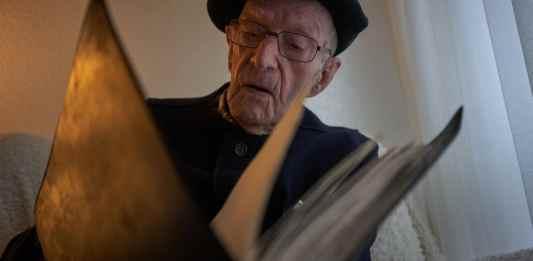 "Mr. Moreno proudly calls himself ""the last gudari,"" a Basque word for soldier.CreditSamuel Aranda for The New York Times"