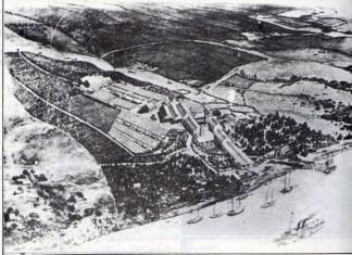 Saladero y Bodega de Pascual Harriague en Salto (1880)