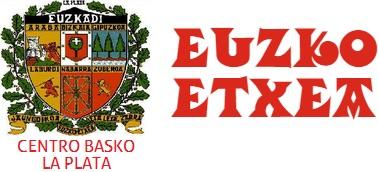 Logo del Centro Vasco Euzko Etxea de La Plata (Argentina)
