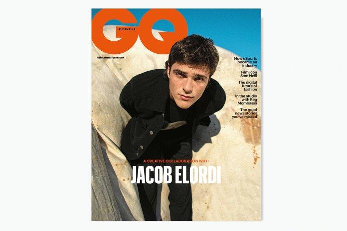 Jacob Elordi portada en GQ Australia