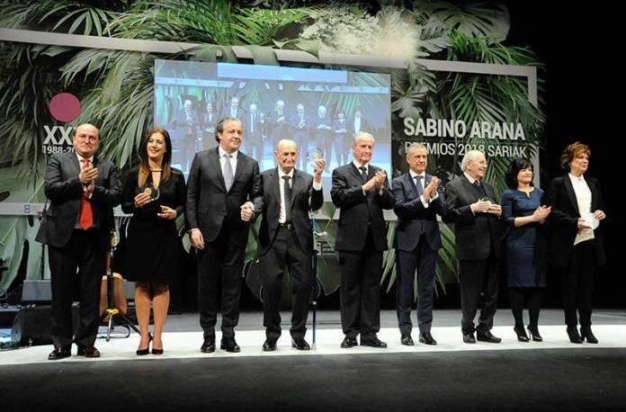 Premios Sabino Arana. Enero 2018
