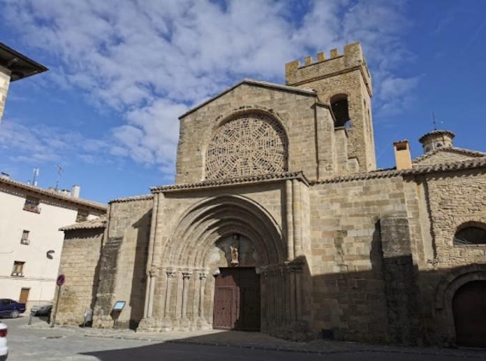 Iglesia de Santiago (Zangoza - Sangüesa)