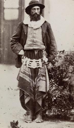 Gaucho uruguayo 1880