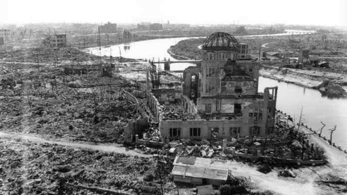Hiroshima tras la bomba atómica