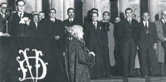 Juramento del Lehendakari Aguirre (Foto: Sabino Arana Fundazioa)