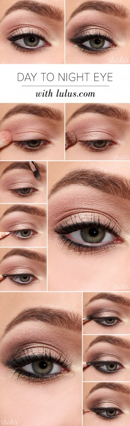 New Year's Eve Make-up tutorial #1