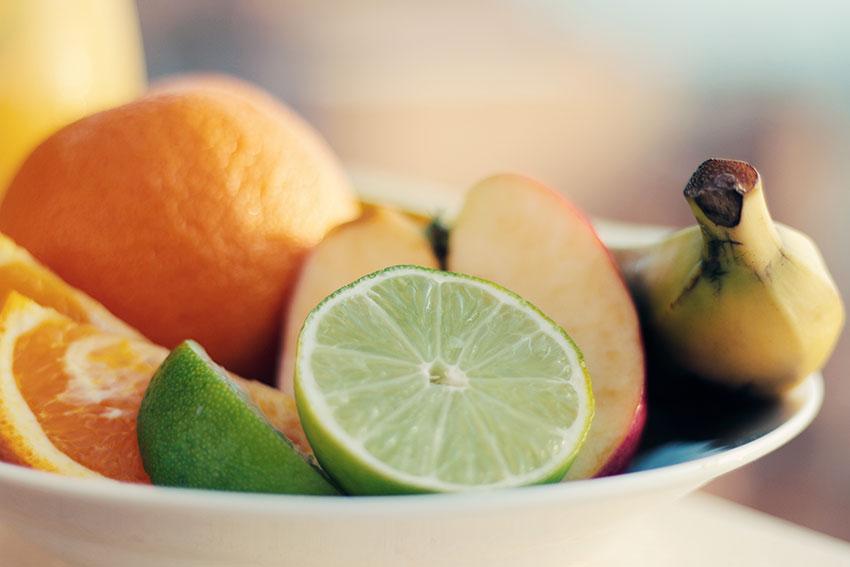8x Fruit voor een stralende huid