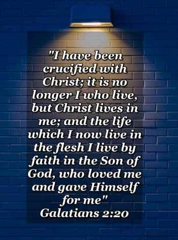 bible varses wallpaper faith (Galatians 2:20)
